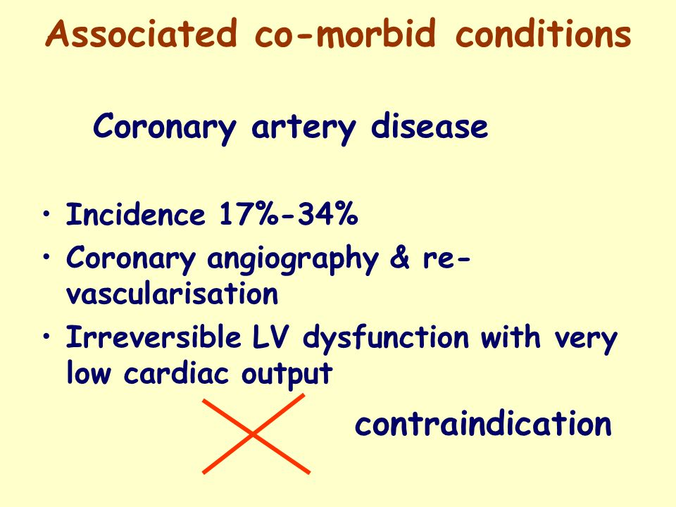 Associated co-morbid conditions Congestive cardiac failure CCF is present before dialysis CCF Associated with CRF IHD Hypoalbuminemia Old age Uremic cardiomyopathy Diabetes Anaemia AV-fistula Independent prognostic Motality