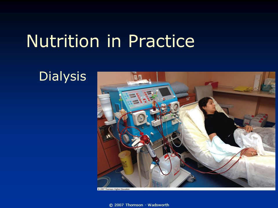 Nutrition in Practice Dialysis