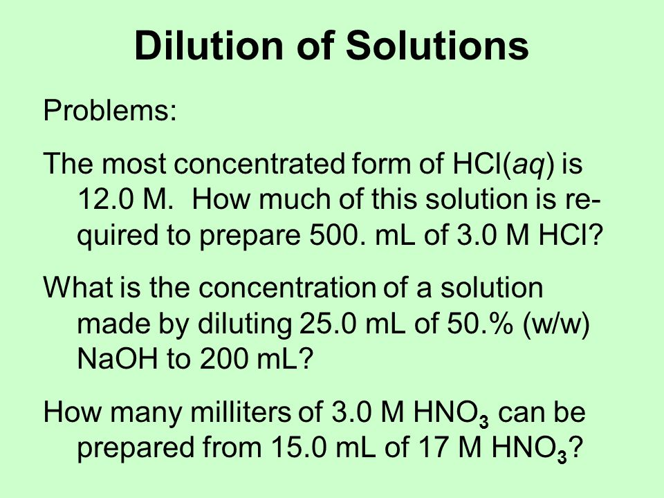 Solution Stoichiometry One can use molarities in theoretical yield type calculations like molar masses.