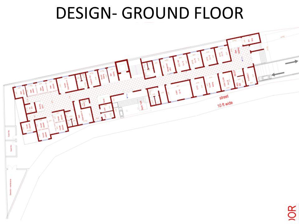 DESIGN- GROUND FLOOR