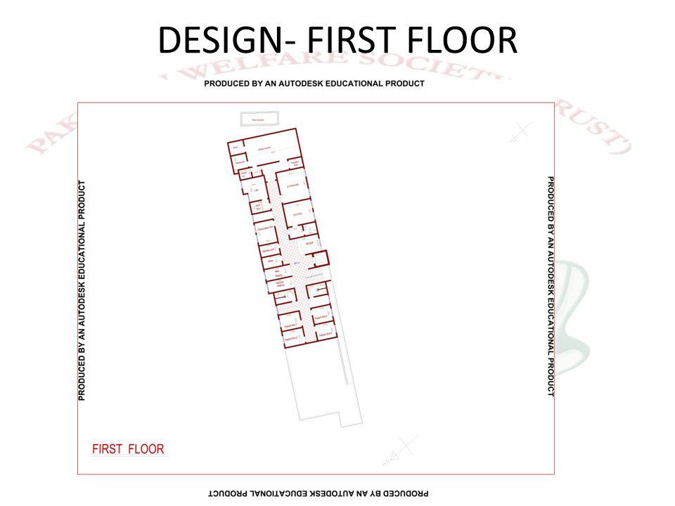 DESIGN- FIRST FLOOR