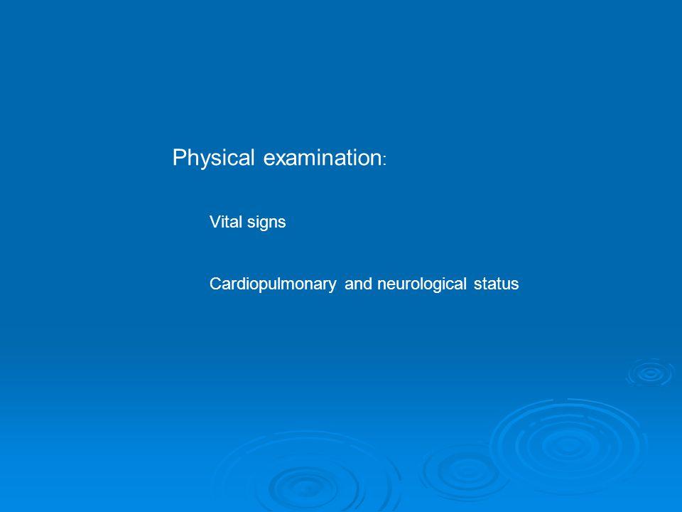 Treatment -Emergency -Maintanance