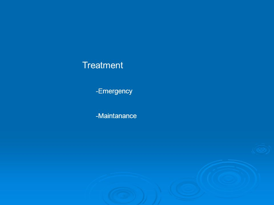 Emergency Treatment: I) Supportive care (vital sign) II) Prevention of further poison absorbtion III) Enhancement of poison elimination IV) Administration of spesific antidots