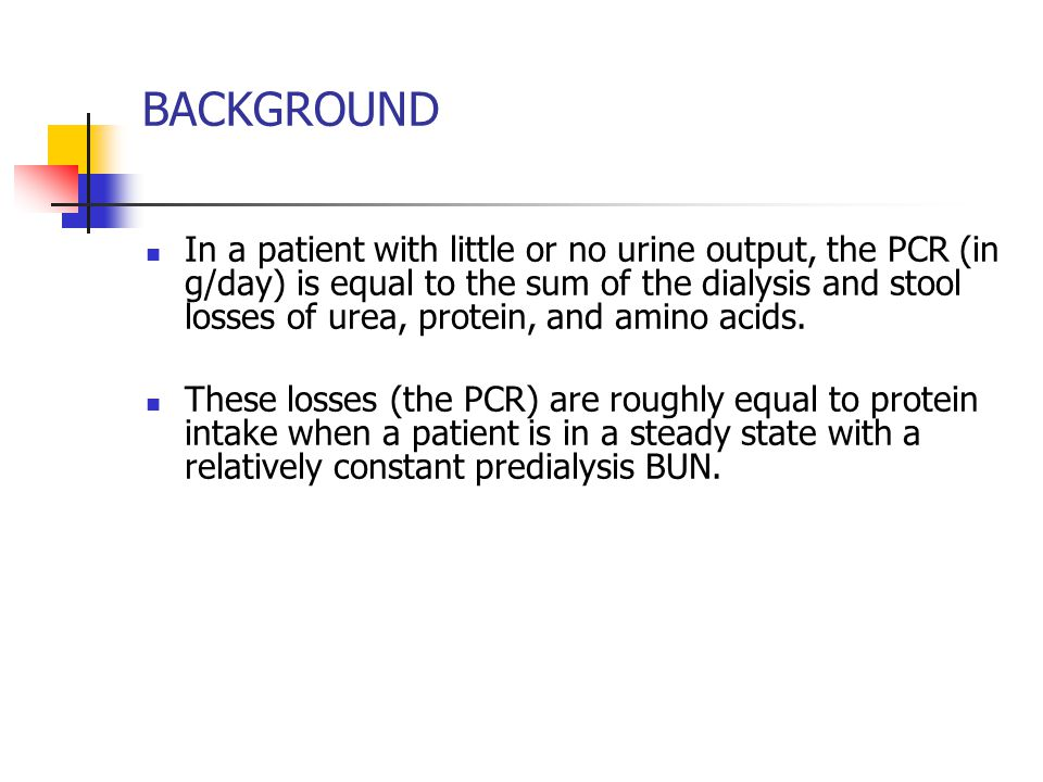 Sequential changes in BUN measured at the end of and after hemodialysis.