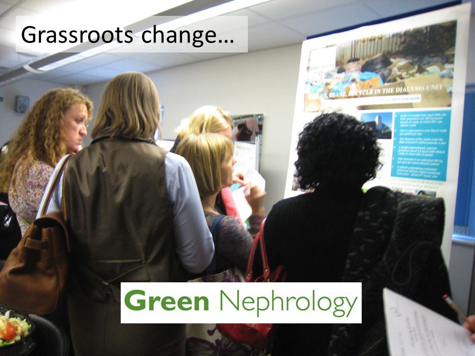 Grassroots change…