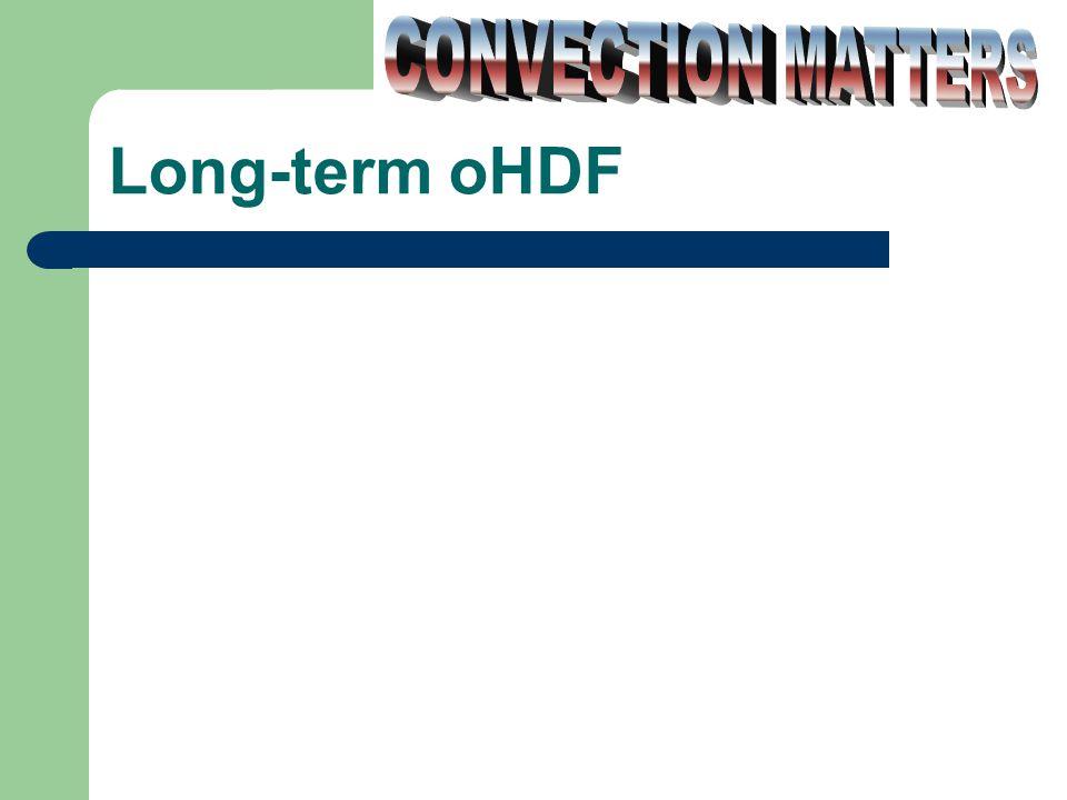 Long-term oHDF