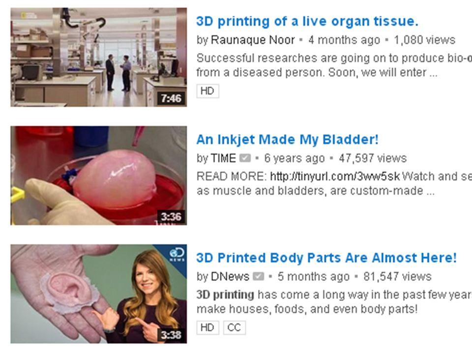 Bioengineering 3D printing