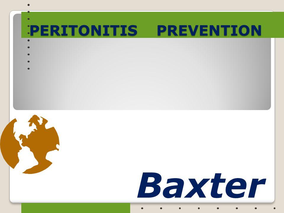 PERITONITIS PREVENTION Baxter