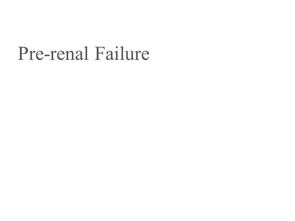Pre-renal Failure