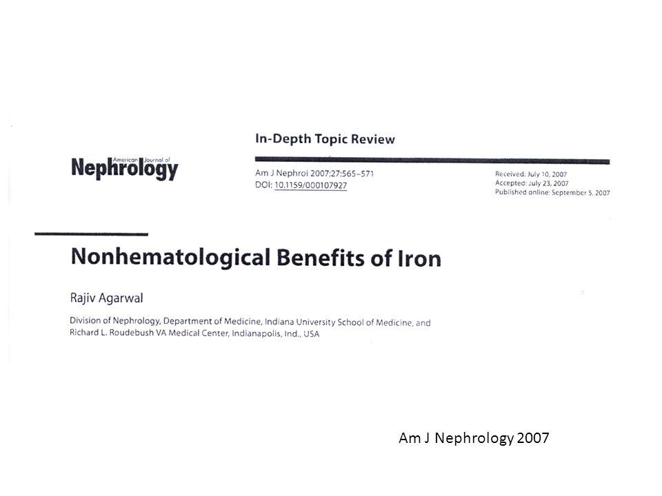 Am J Nephrology 2007
