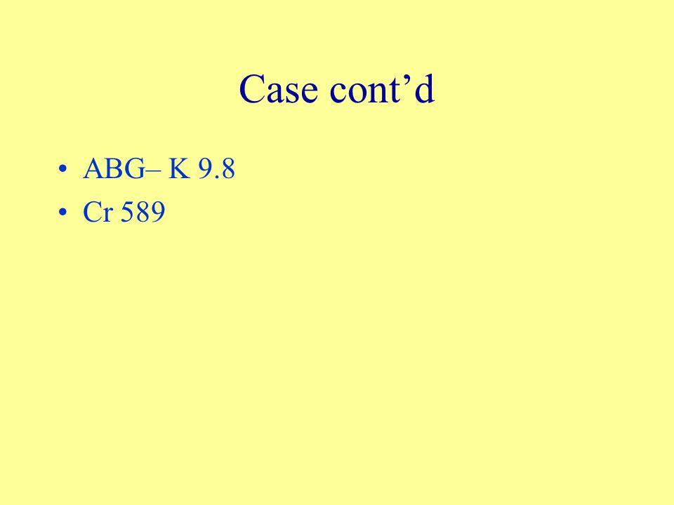 Case cont'd ABG– K 9.8 Cr 589