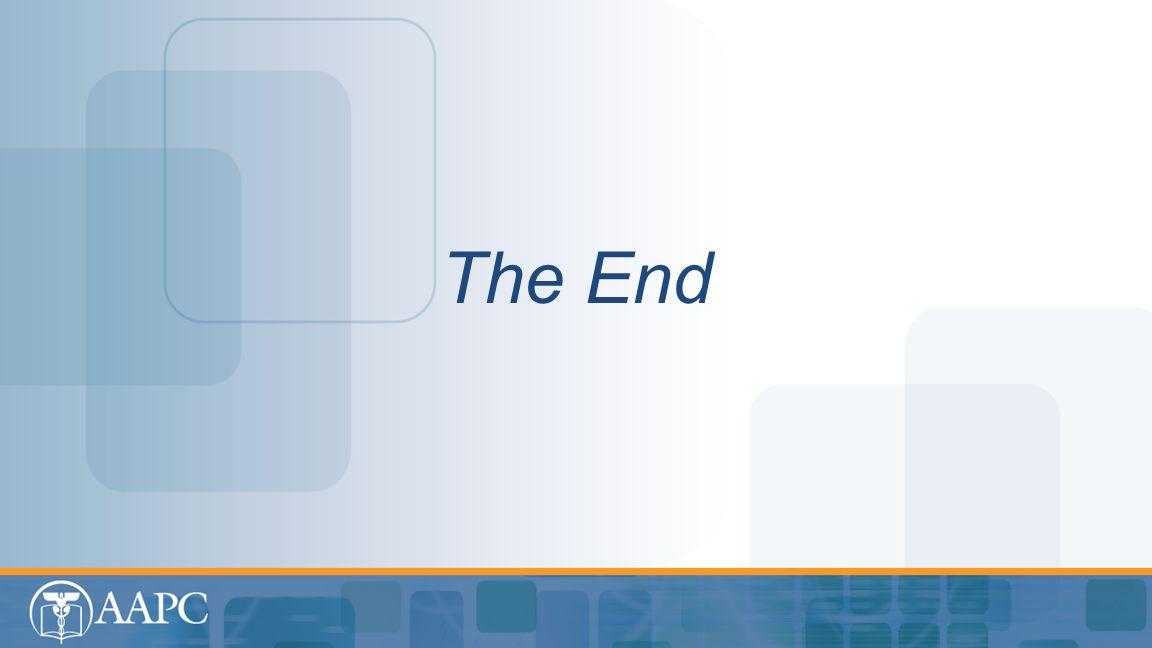 Medicine The End