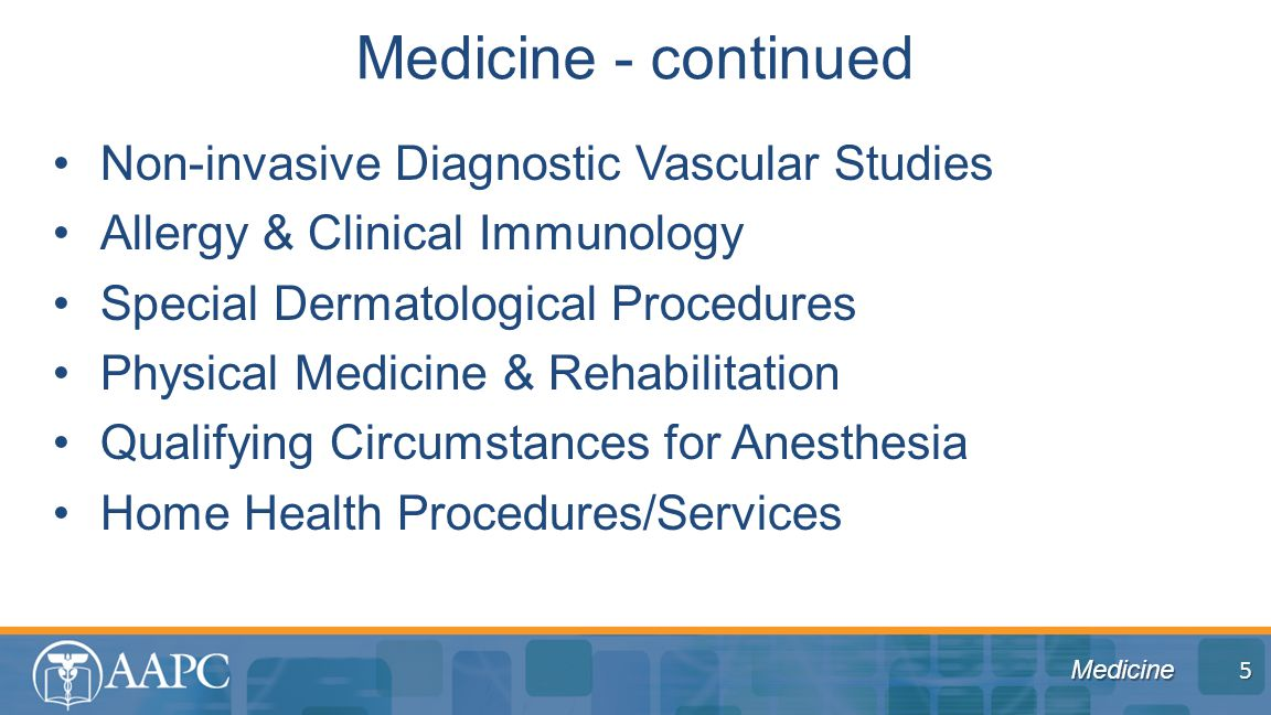 Medicine Non-invasive Diagnostic Vascular Studies Allergy & Clinical Immunology Special Dermatological Procedures Physical Medicine & Rehabilitation Q