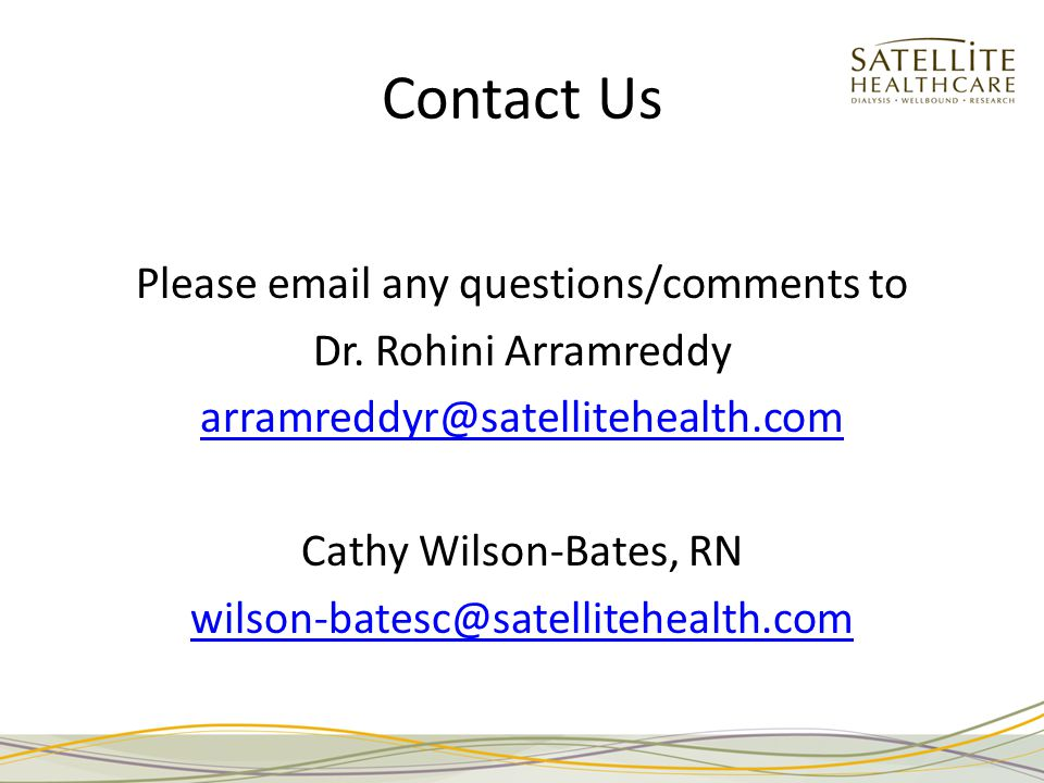 Contact Us Please email any questions/comments to Dr.