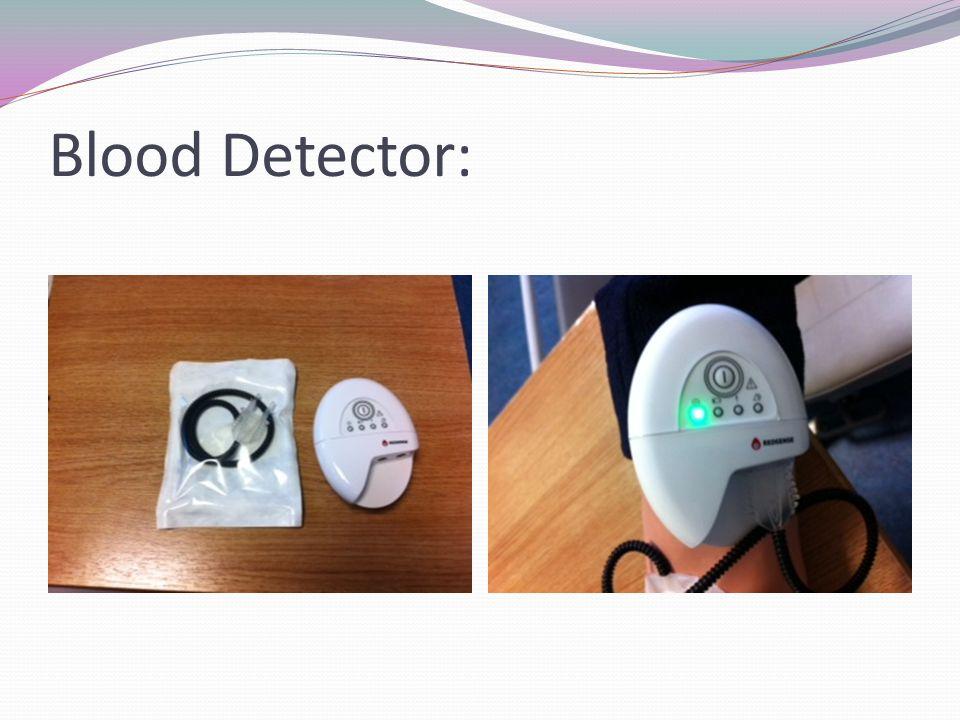 Blood Detector: