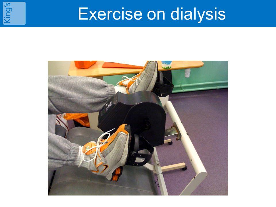 Exercise on dialysis