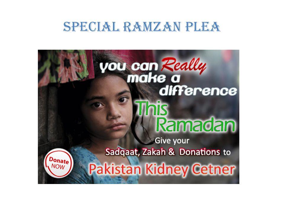 Special Ramzan Plea