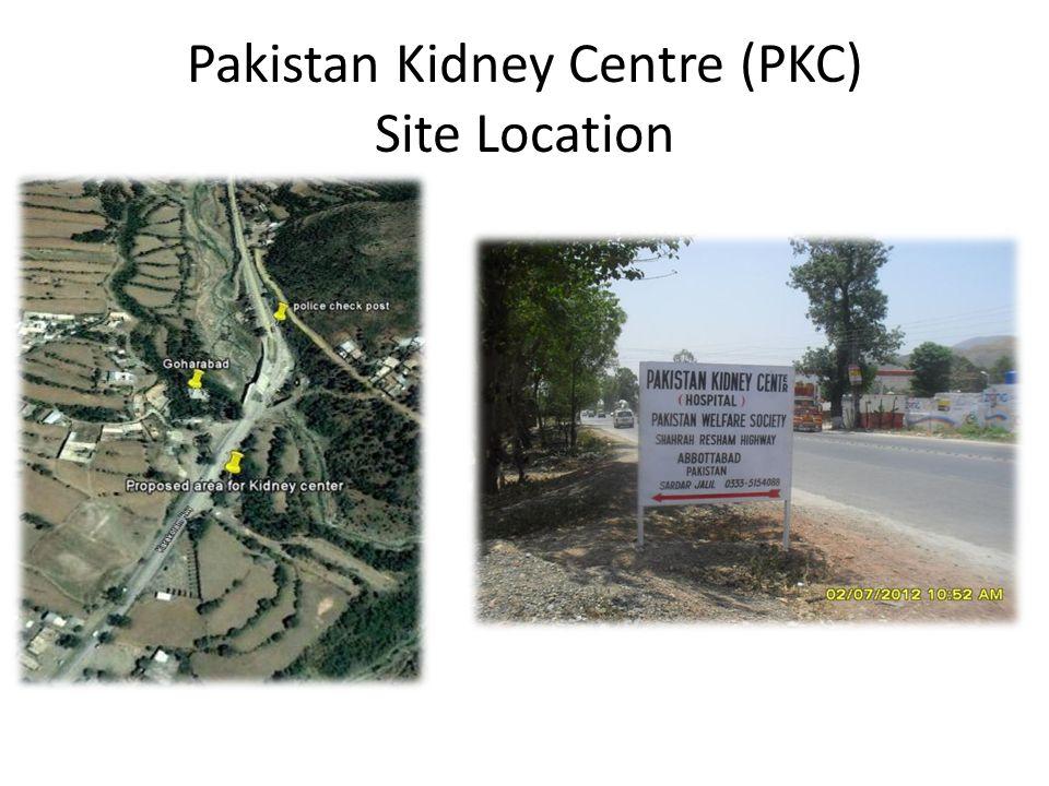 Pakistan Kidney Centre (PKC) Site Location