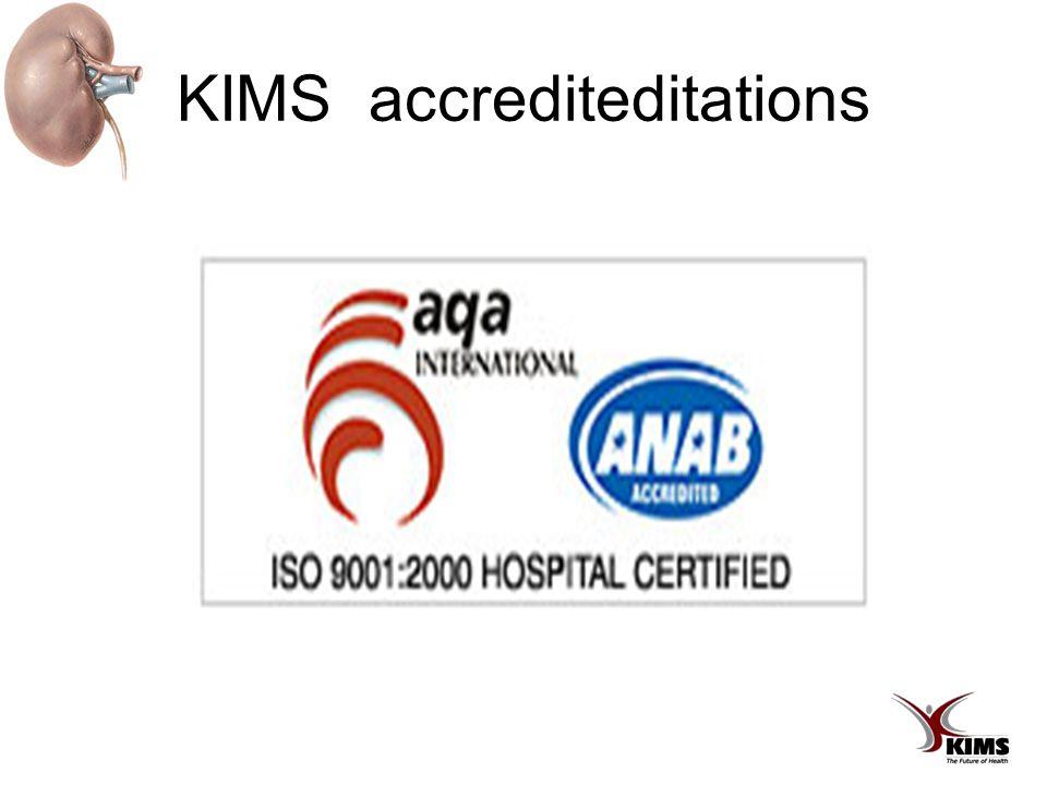 KIMS accrediteditations