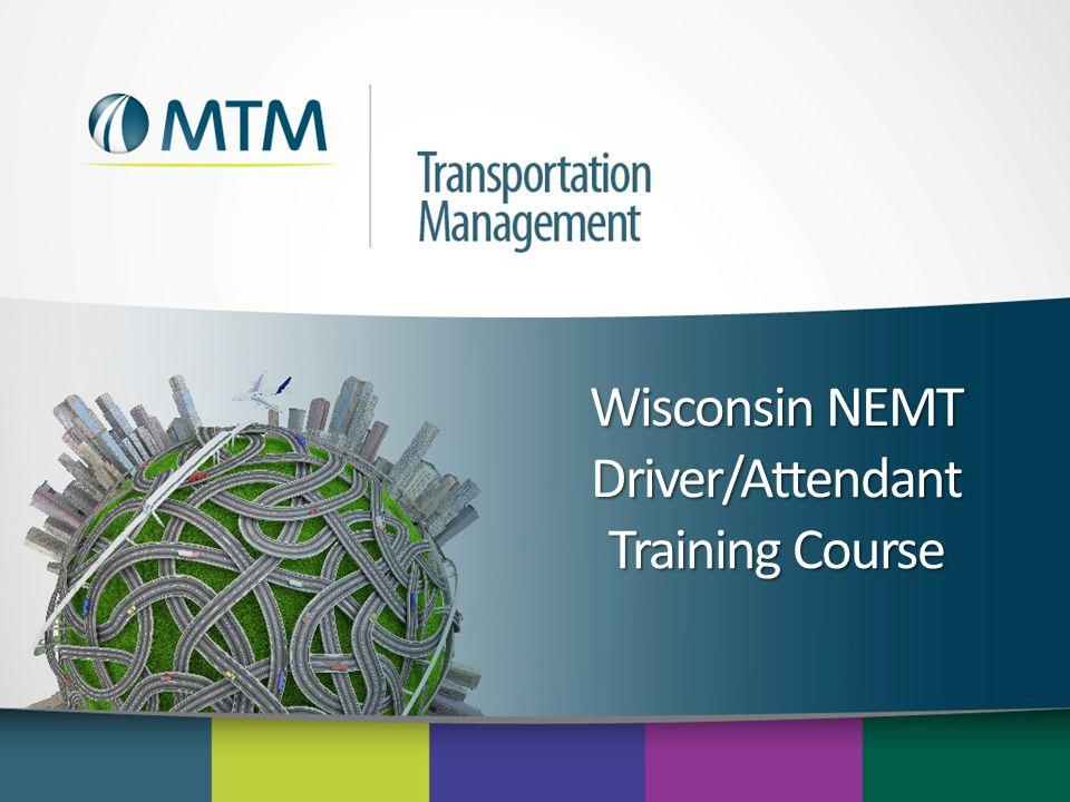 Wisconsin NEMT Driver/Attendant Training Course