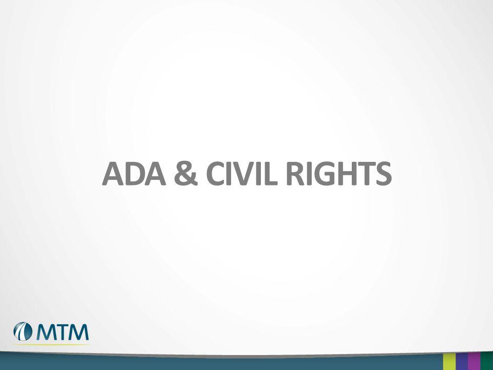 ADA & CIVIL RIGHTS