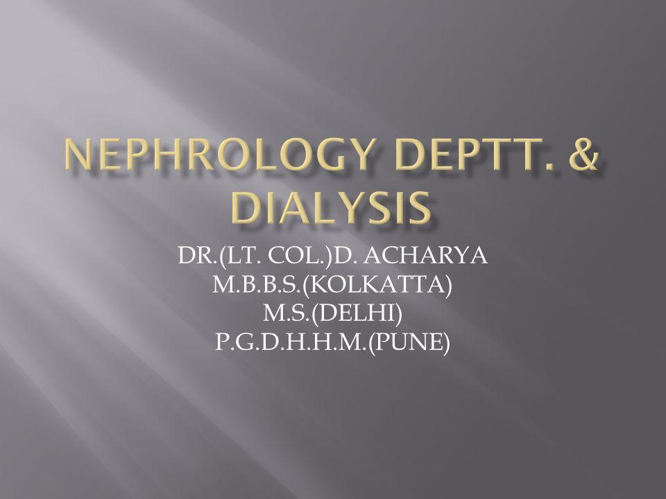 DR.(LT. COL.)D. ACHARYA M.B.B.S.(KOLKATTA) M.S.(DELHI) P.G.D.H.H.M.(PUNE)
