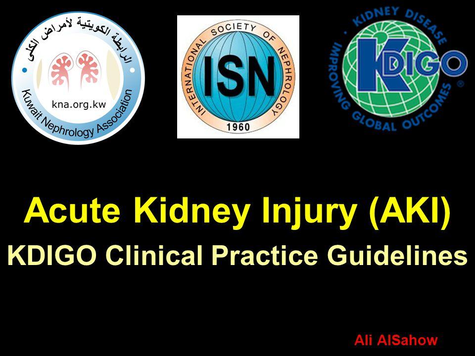 Risk Factors for AKI A.