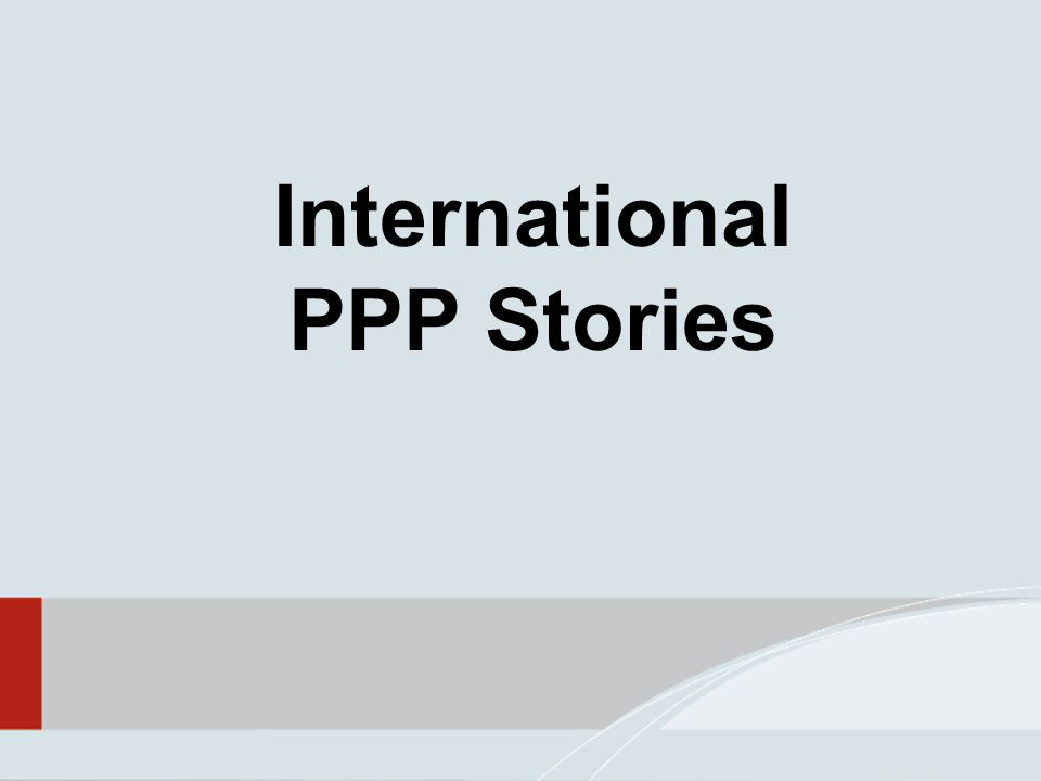 International PPP Stories