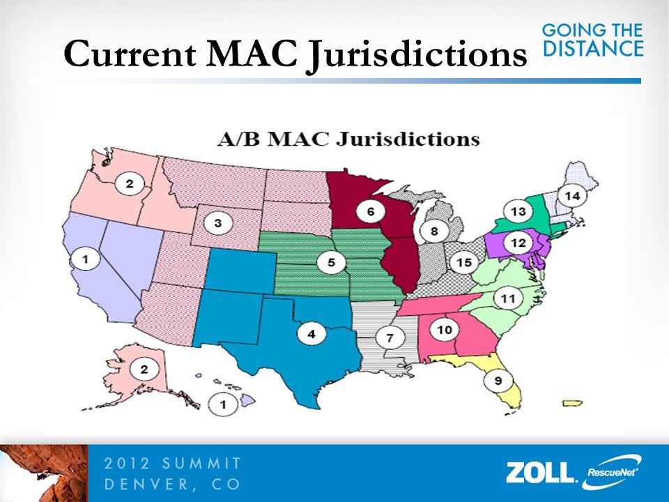 Current MAC Jurisdictions