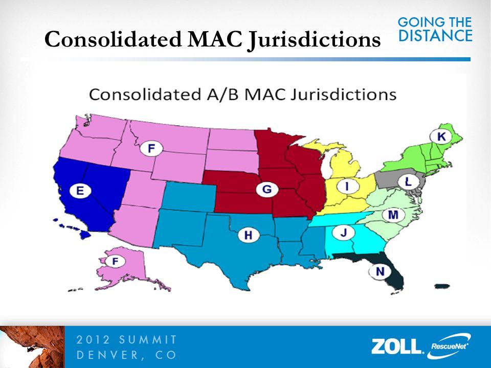 Consolidated MAC Jurisdictions