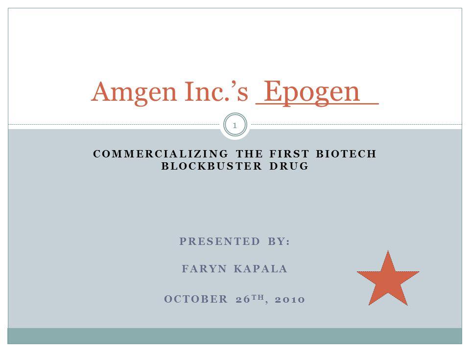 References 42 Amgen.(2010). Epogen.