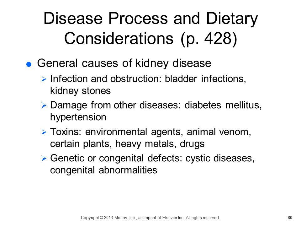 General Causes of Kidney Disease (p.