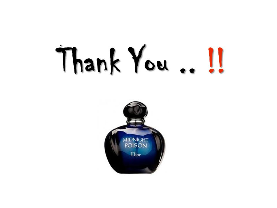 Thank You.. !!
