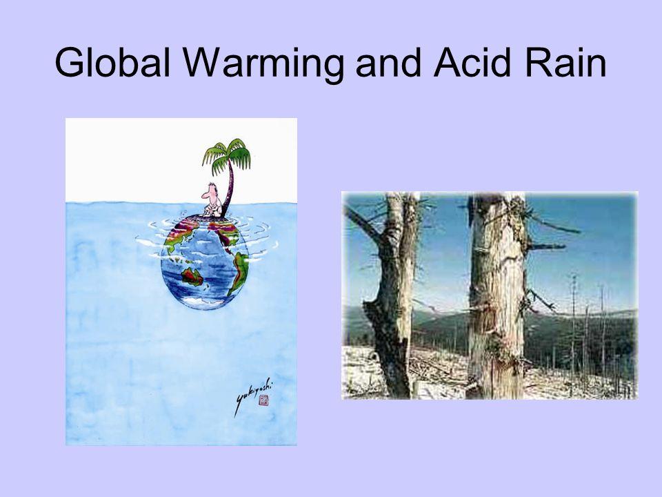 Global Warming and Acid Rain