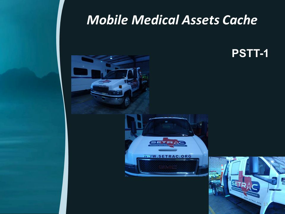 PSTT-1 Mobile Medical Assets Cache 13