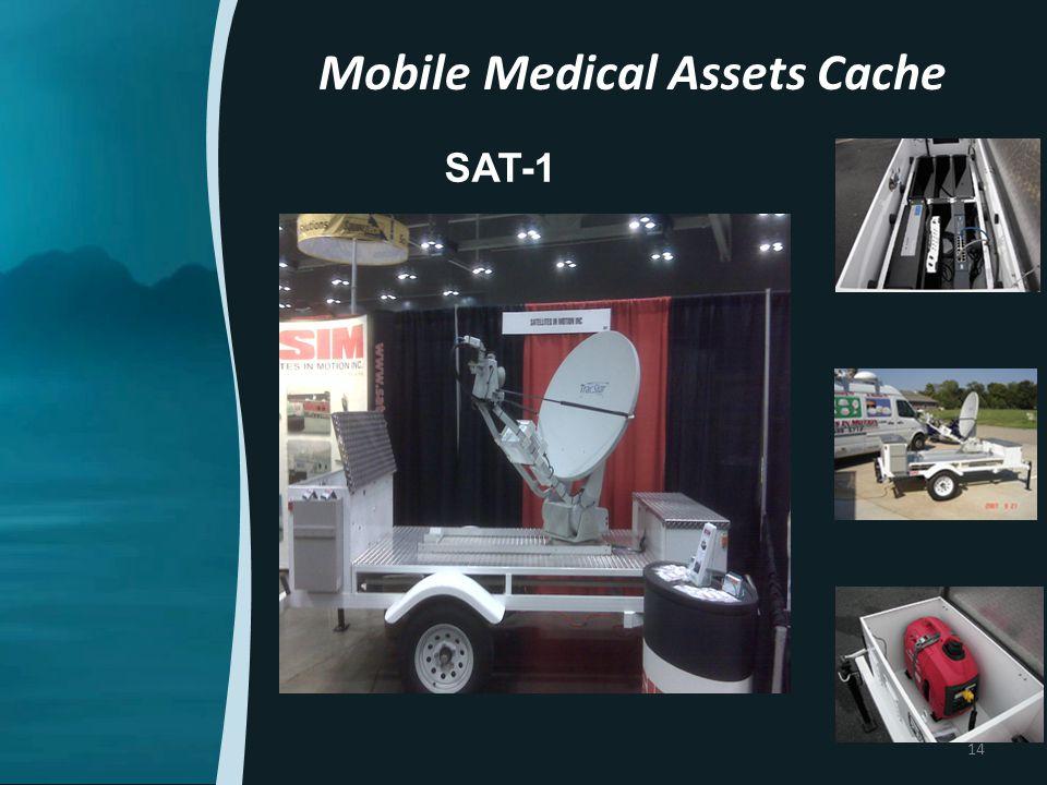 SAT-1 Mobile Medical Assets Cache 14