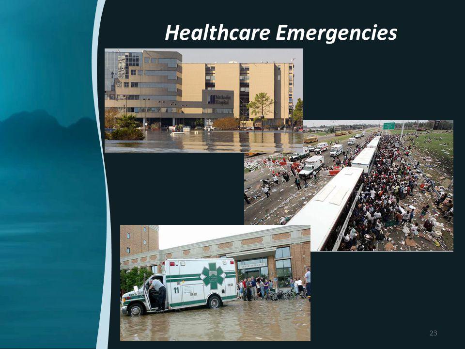 Healthcare Emergencies 23