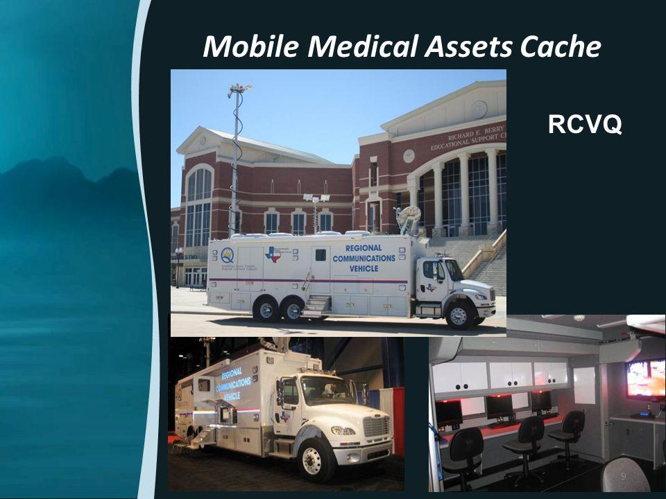 Mobile Medical Assets Cache RCVQ 9