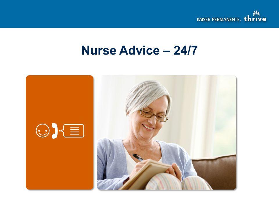 Nurse Advice – 24/7