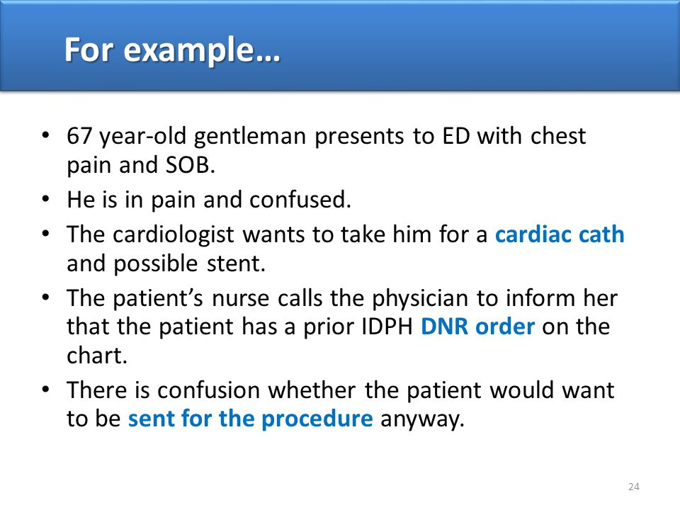 67 year-old gentleman presents to ED with chest pain and SOB.