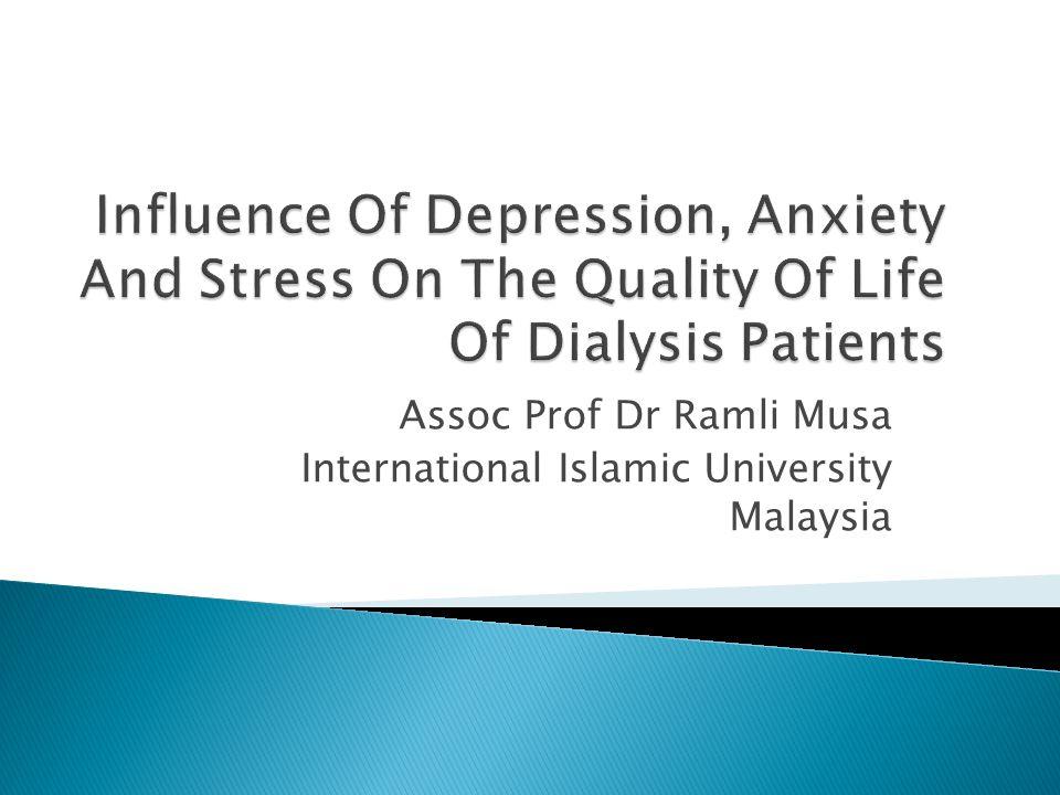 Assoc Prof Dr Ramli Musa International Islamic University Malaysia