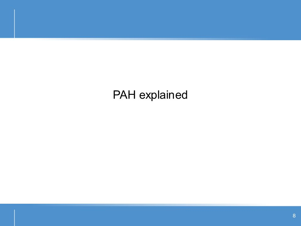 What is PAH.