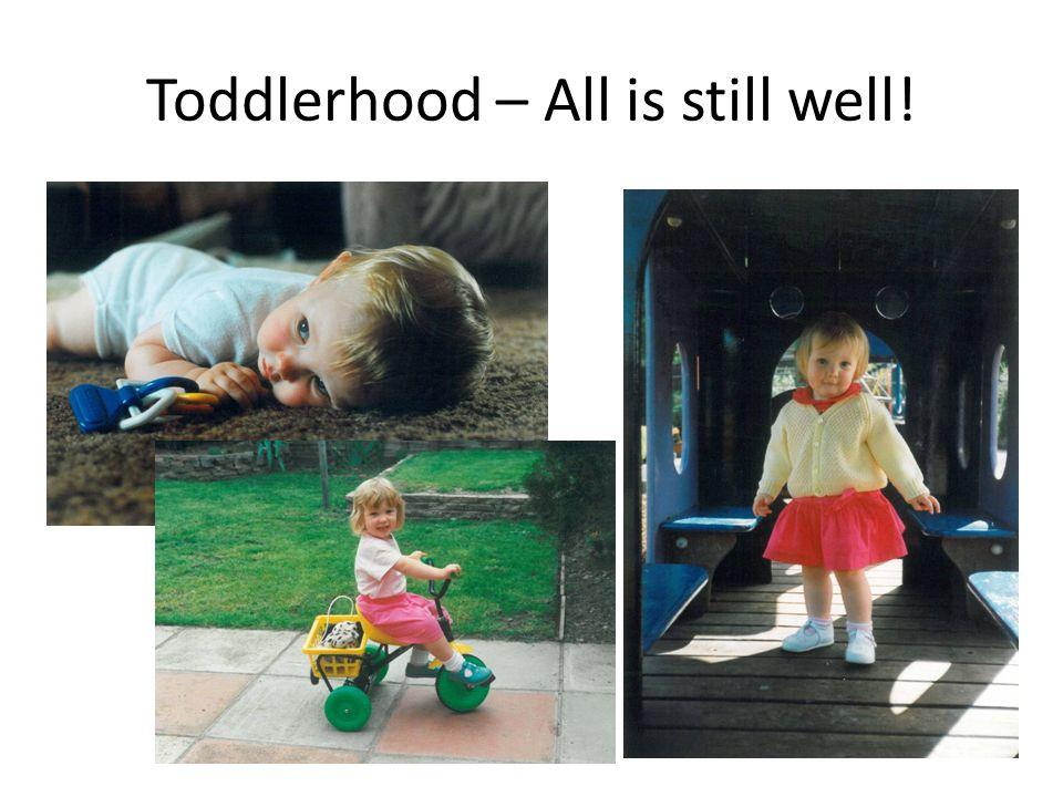 Toddlerhood – All is still well!