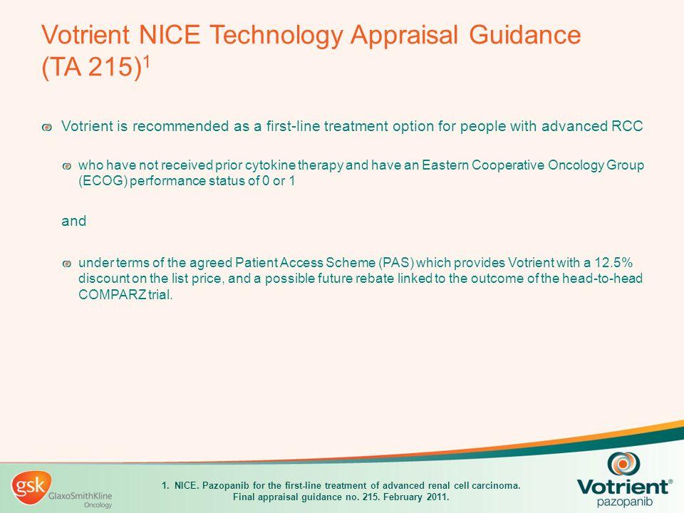 Votrient Scottish Medicines Consortium Advice No.