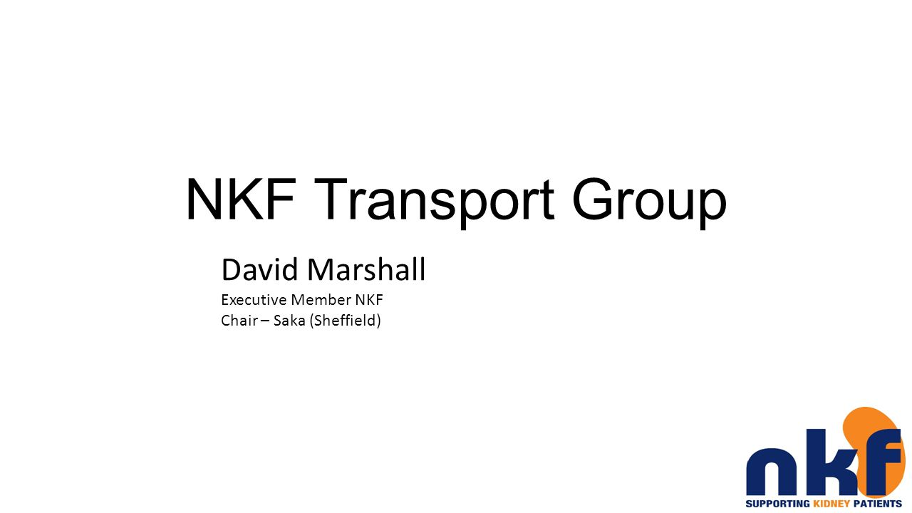 NKF Transport Group Why Was The Transport Group Created .