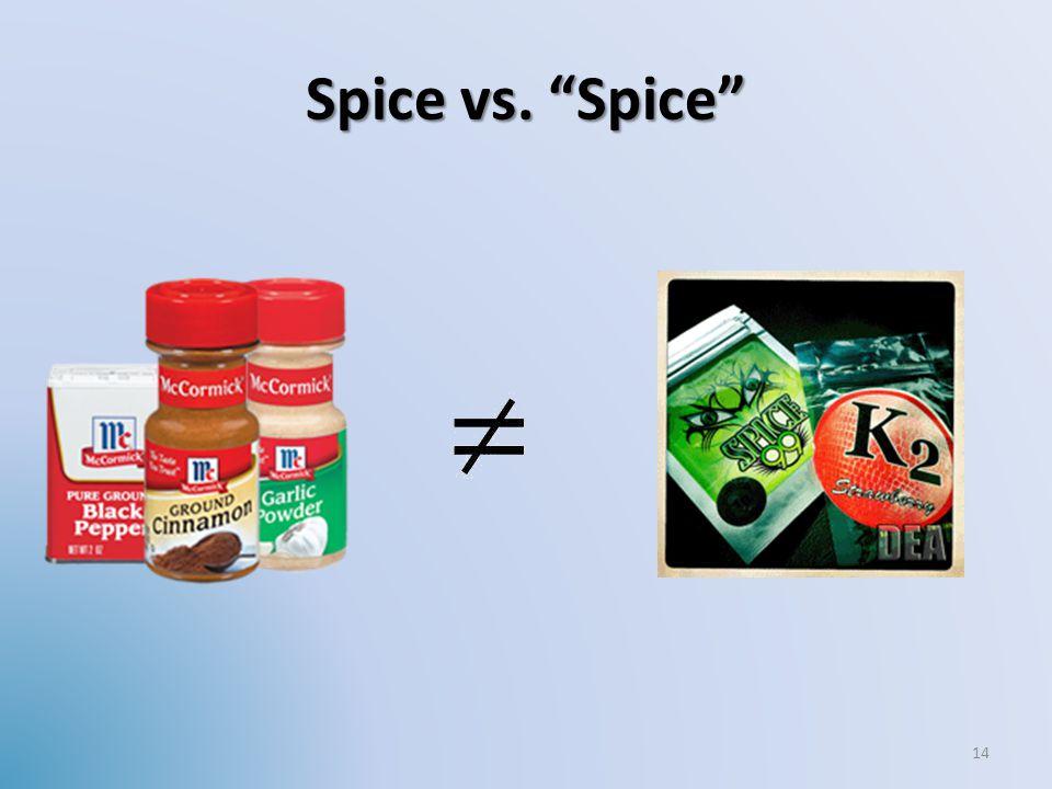 Spice vs. Spice 14