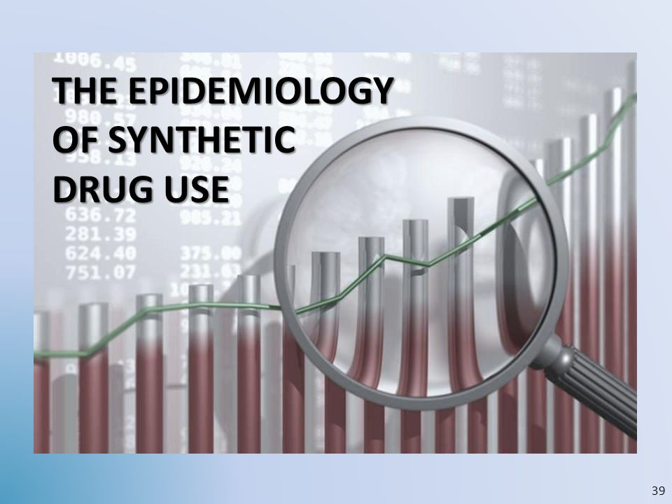 THE EPIDEMIOLOGY OF SYNTHETIC DRUG USE 39