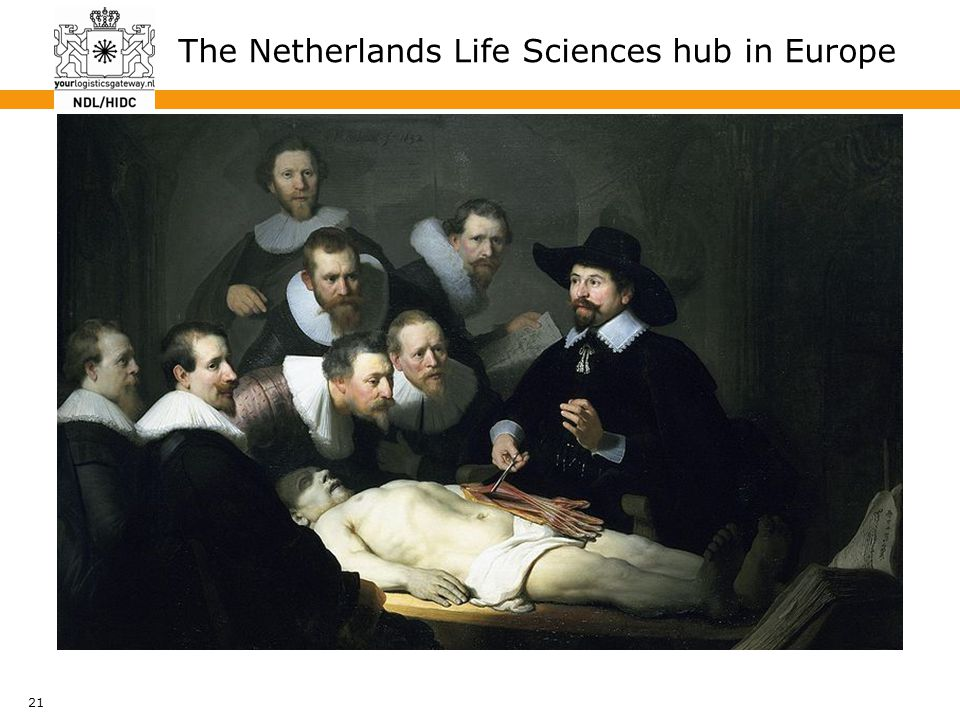 21 The Netherlands Life Sciences hub in Europe