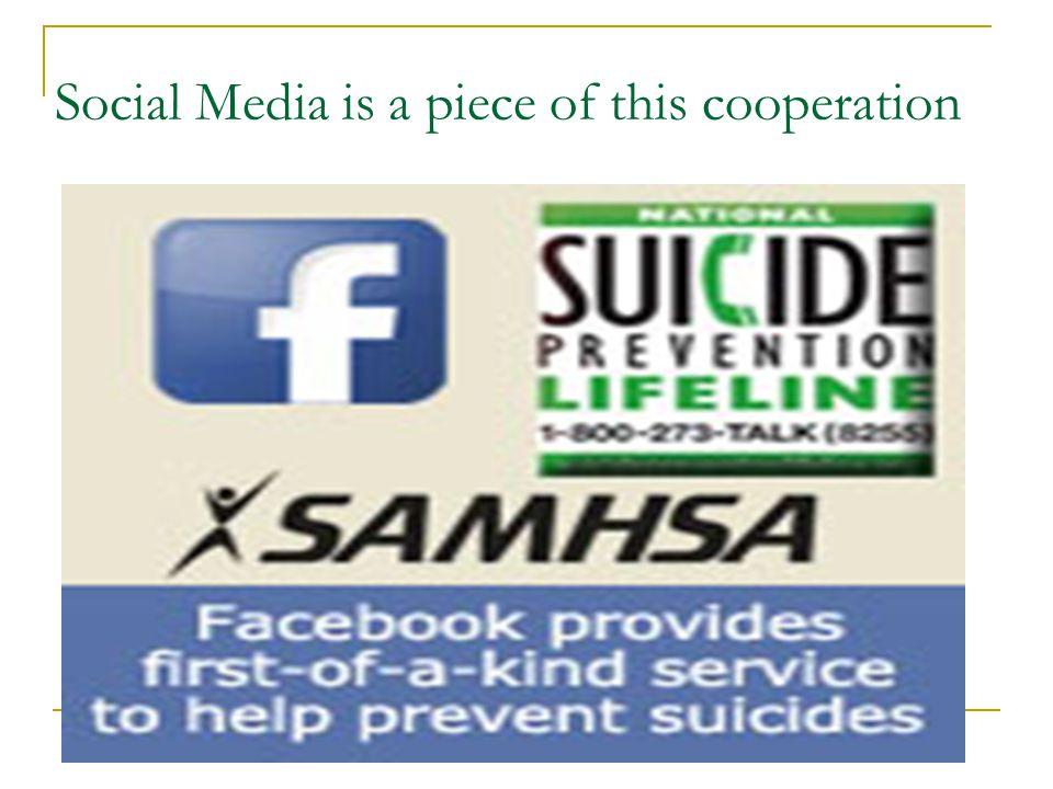 Social Media is a piece of this cooperation