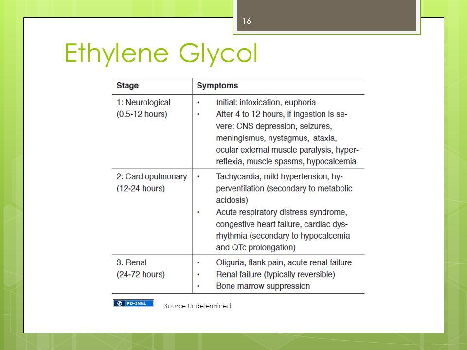 Ethylene Glycol Source Undetermined 16
